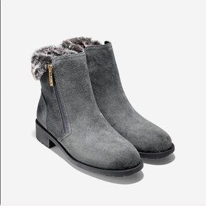 New Cole Haan | Castlerock Waterproof Suede Boots